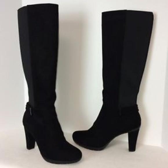 715f812e7b86 Liz Claiborne Shoes - Reposh - Liz Claiborne Singer Wide Calf Boots